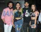 Actors Sidharth Malhotra, Riteish Deshmukh, Tara Sutaria and Rakul Preet Singh at the wrap-up party of their upcoming film Marjaavaan in Mumbai, on March 18, 2019. (Photo: IANS)