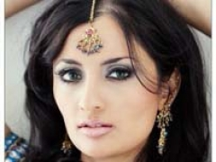 Beauty queen Amin Dhillon