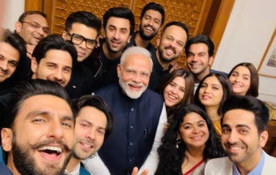 Bollywood 'squad' meets Modi to discuss 'nation building'