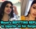 Mouni's BEFITTING REPLY to reporter on her Surgery