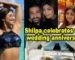 Shilpa Shetty celebrates 9th wedding anniversary